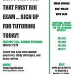 Free Political Science Tutoring